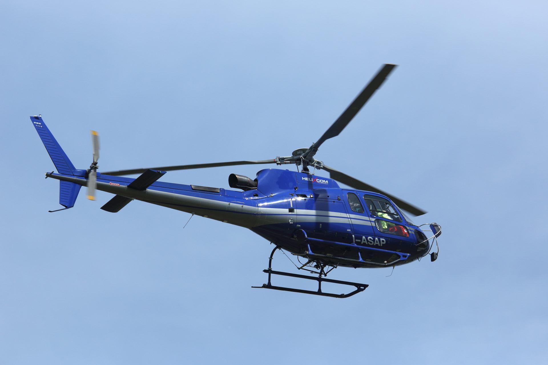 Trasporto in elicottero