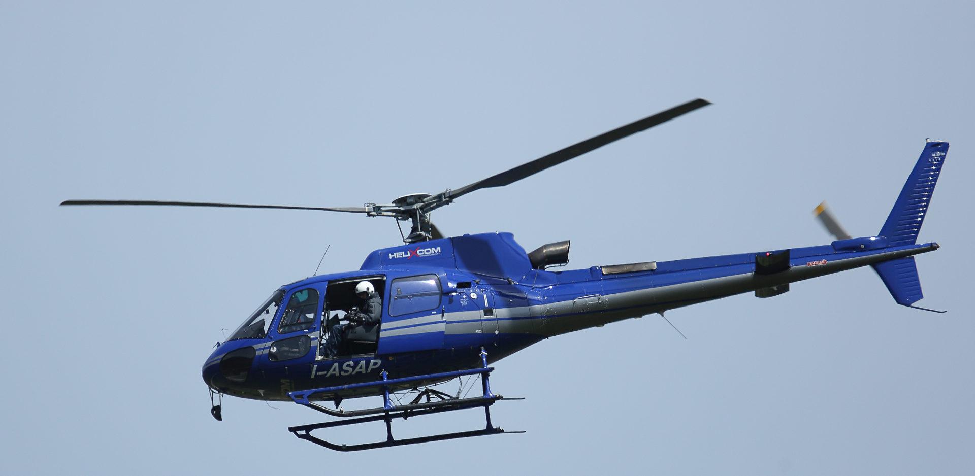Trasporto in elicottero per lavori aerei