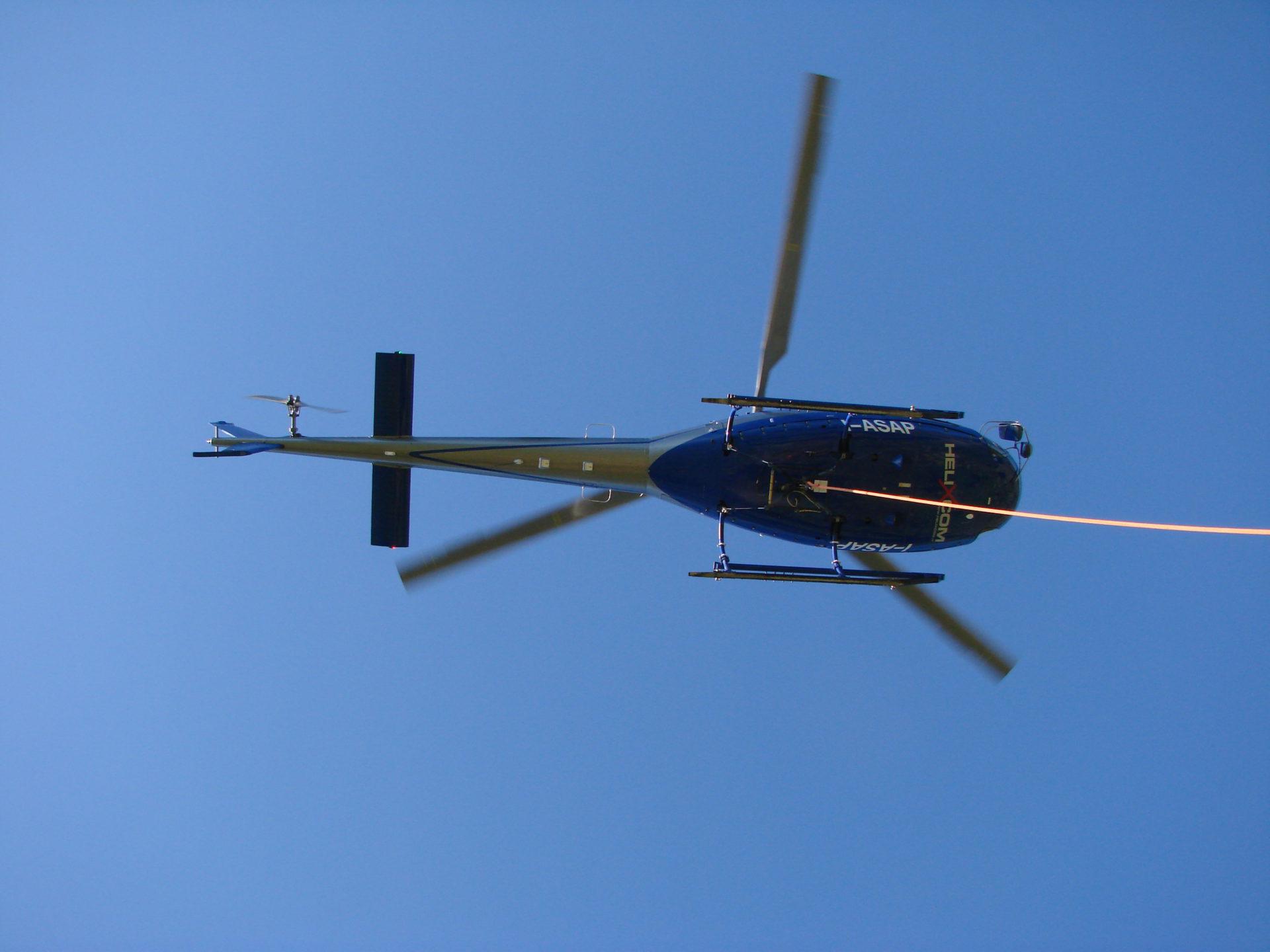 antincendio in elicottero