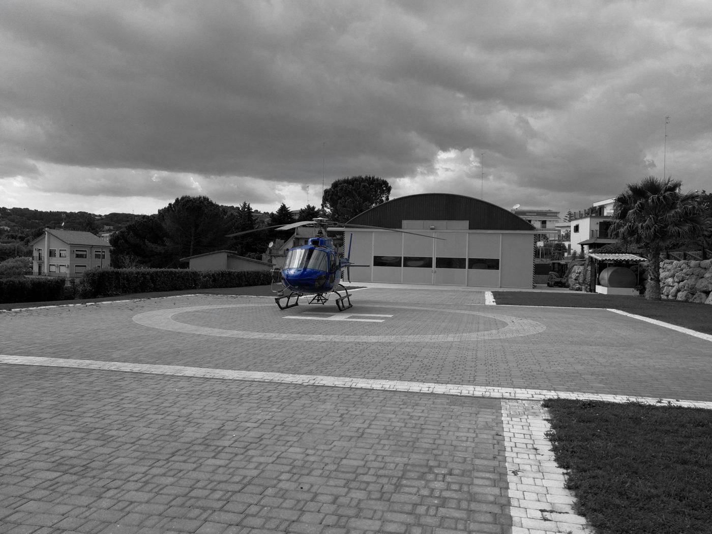 affittare elicottero Sicilia