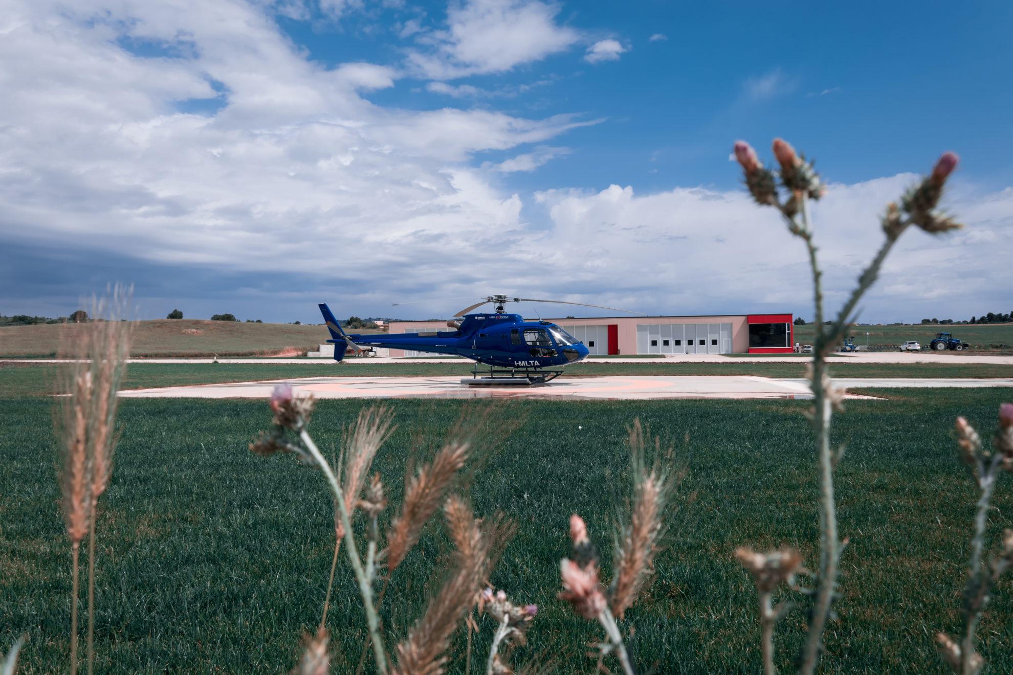 Affitto elicotteri in sicilia